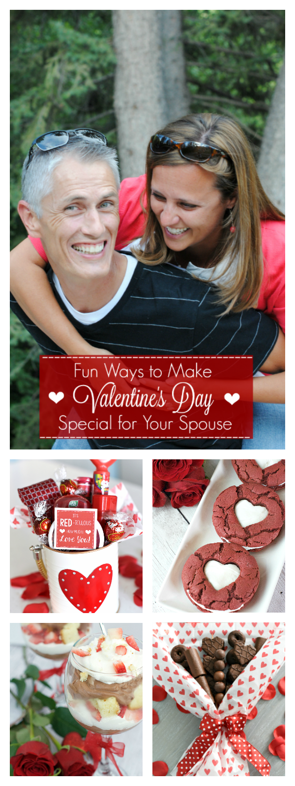 Fun Ways to Make Valentine's Day Special for Your Spouse-This list of great ideas of things to do for your husband for Valentine's Day (or your wife) will make this holiday extra special. Valentine's gifts, dates, treats and other great Valentine's Day ideas #valentinesday #valentinesdaygifts #valentinesforhim