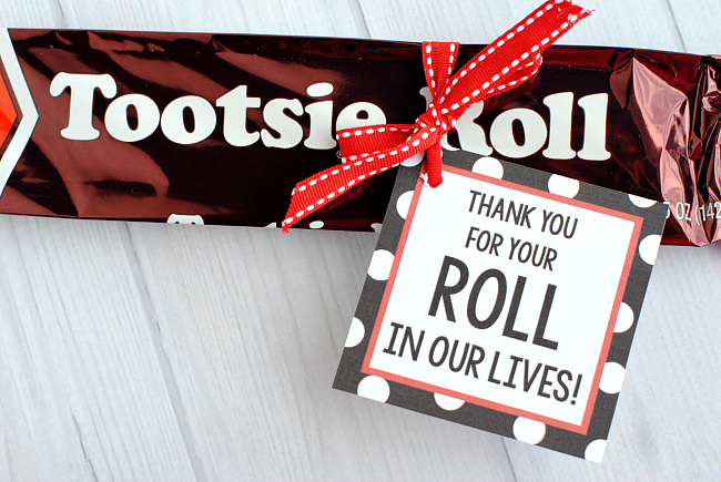 Tootsie Roll Teacher Gifts