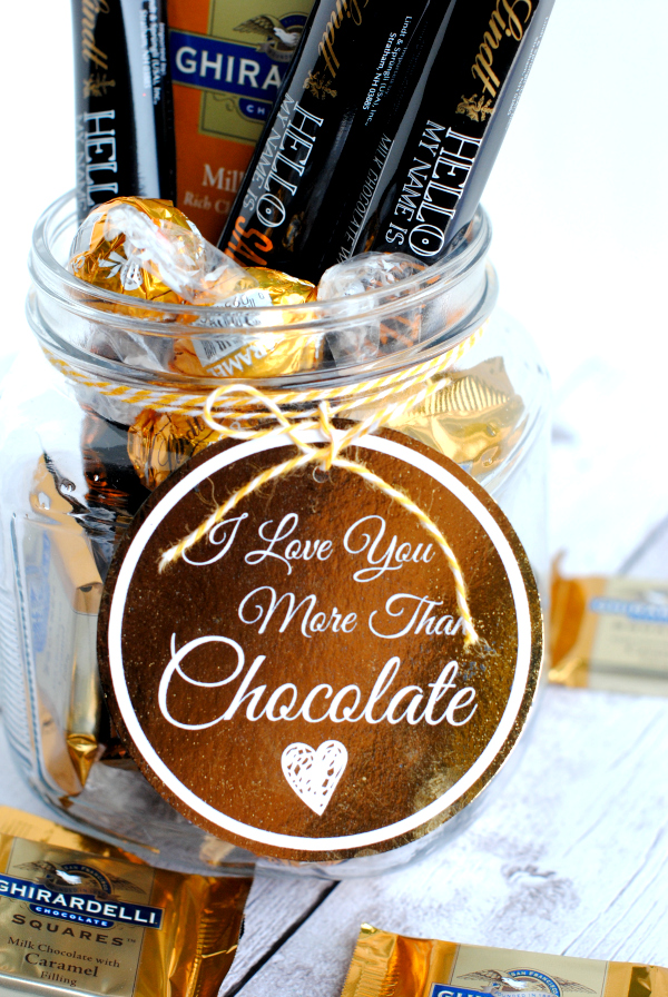 Love You More Than Chocolate Presents