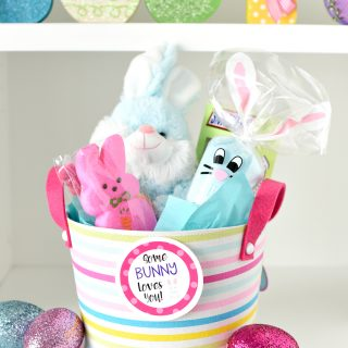 Bunny Easter Basket: Some Bunny Loves You!