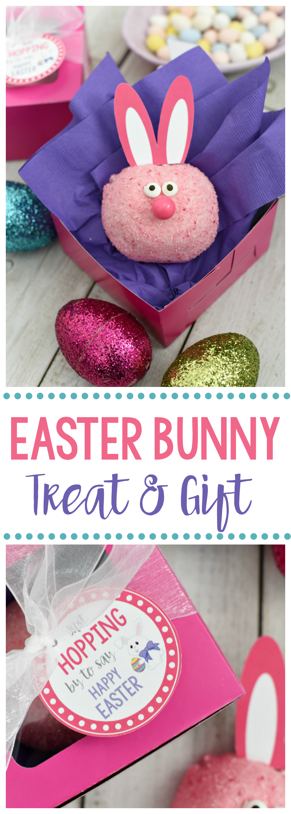 Cute Easter Treats and Gift Tag