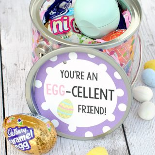 Cute Easter Gift Ideas: EGG-cellent Gift Basket