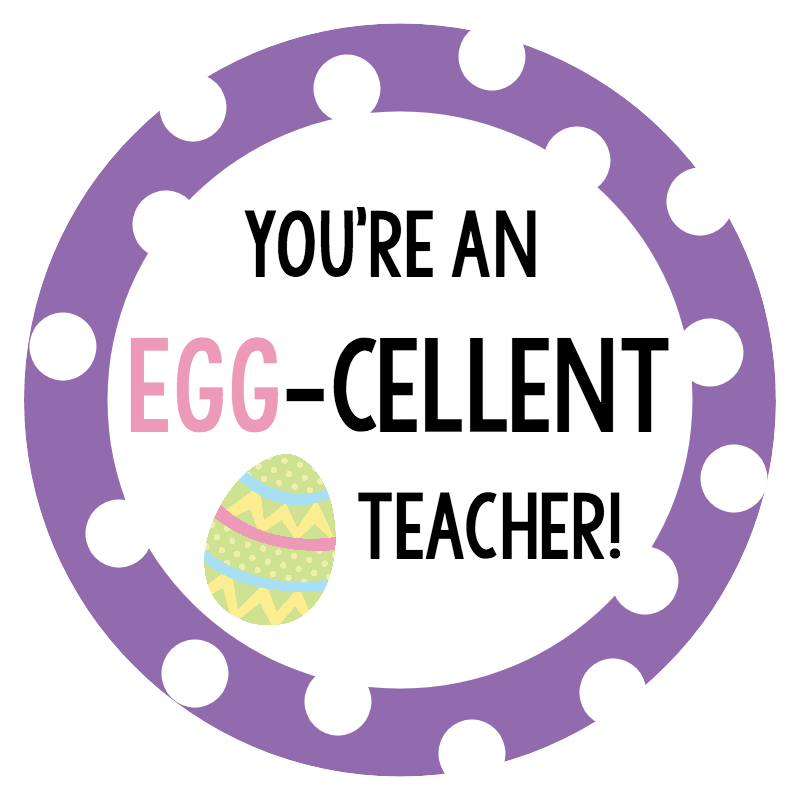 Cute easter gift ideas egg cellent gift basket fun squared heres a cute version for a teacher too a fun little easter gift for teachers negle Image collections