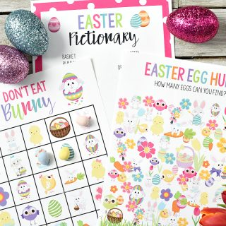 Free Printable Easter Games for Kids