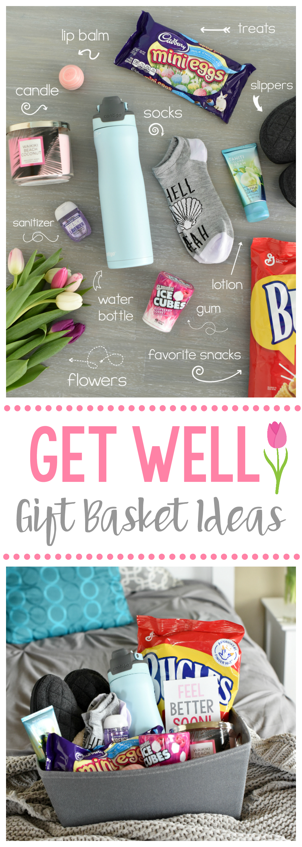 Get Well Soon Gift Ideas for Friends