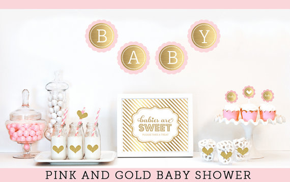Baby Girl Baby Shower Themes