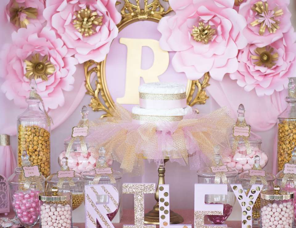 Cute girl baby shower themes ideas fun squared - Unique girl baby shower themes ...