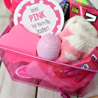 "Cute ""Tickled Pink"" Teacher Gifts"
