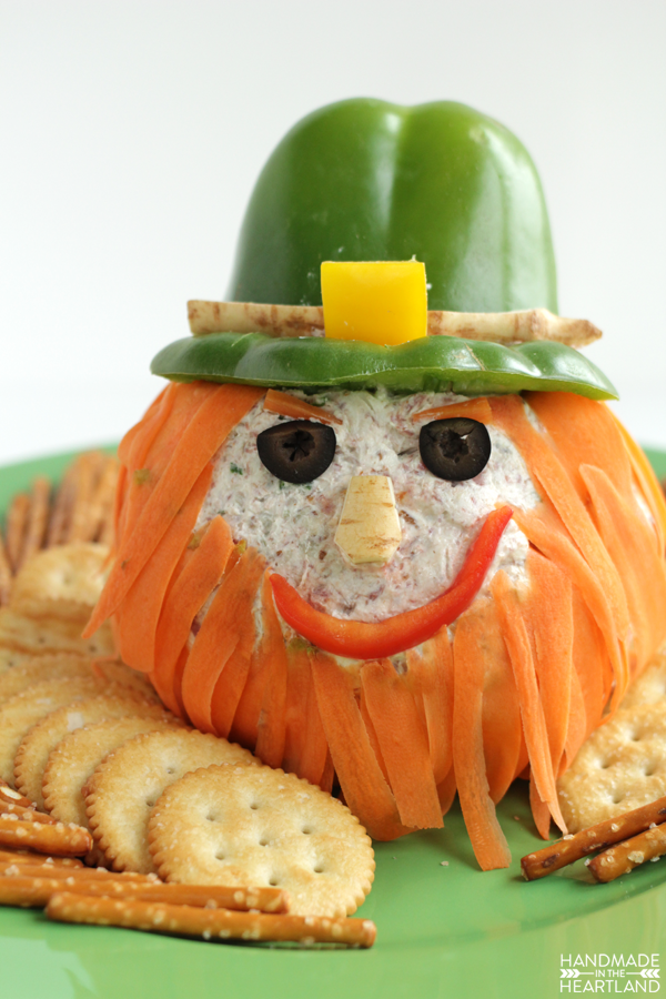 Leprechaun Cheeseball