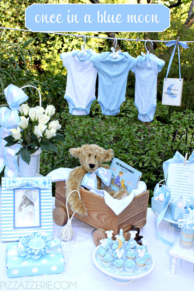 Baby Boy Baby Shower Theme Ideas