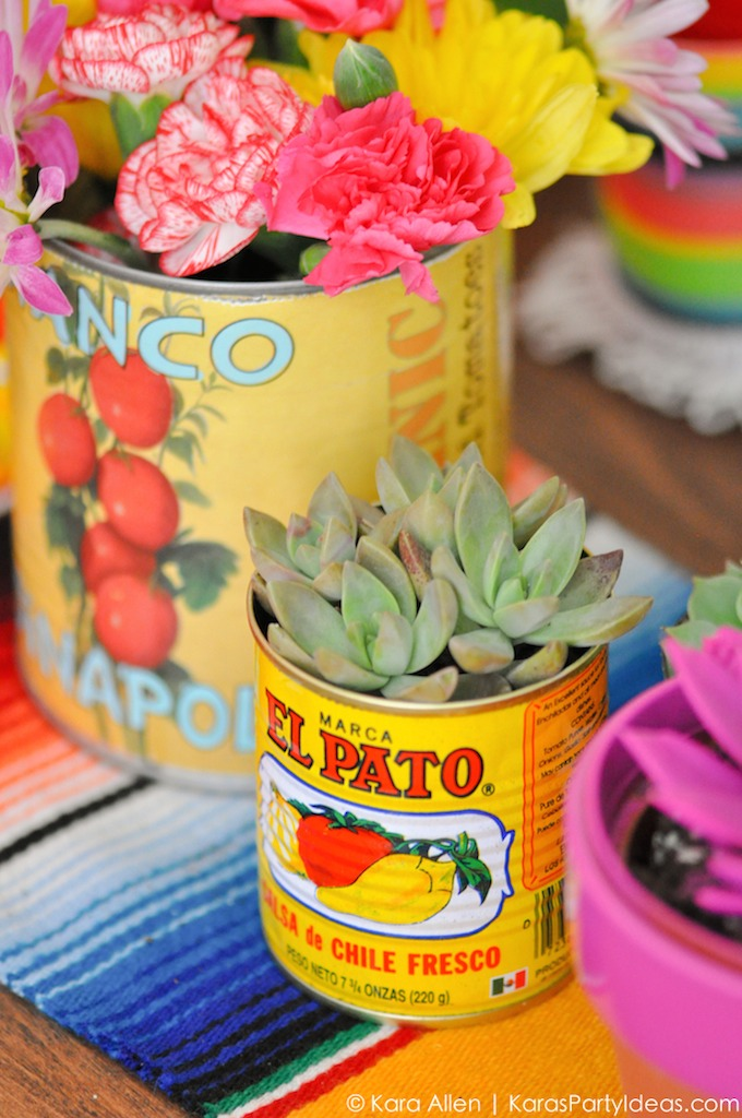 Cinco De Mayo Flower Centerpieces Mexican Party Ideas