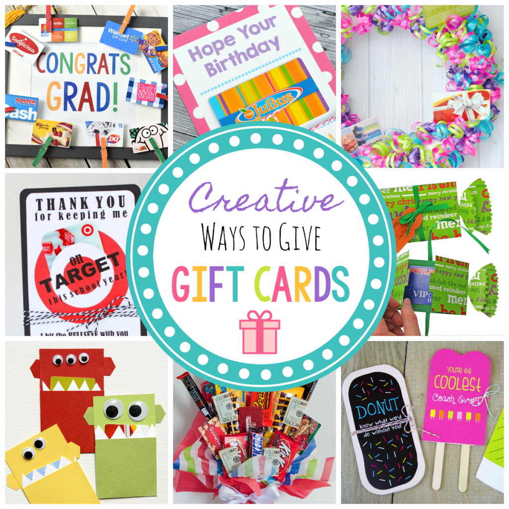 16 Fun Creative Ways To Give Gift Cards Squared