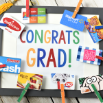 Cute Graduation Gifts-Congrats Grad Gift Card Frame