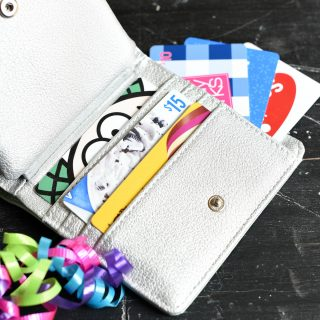 Gift Card Holder Ideas: Gift Card Wallet