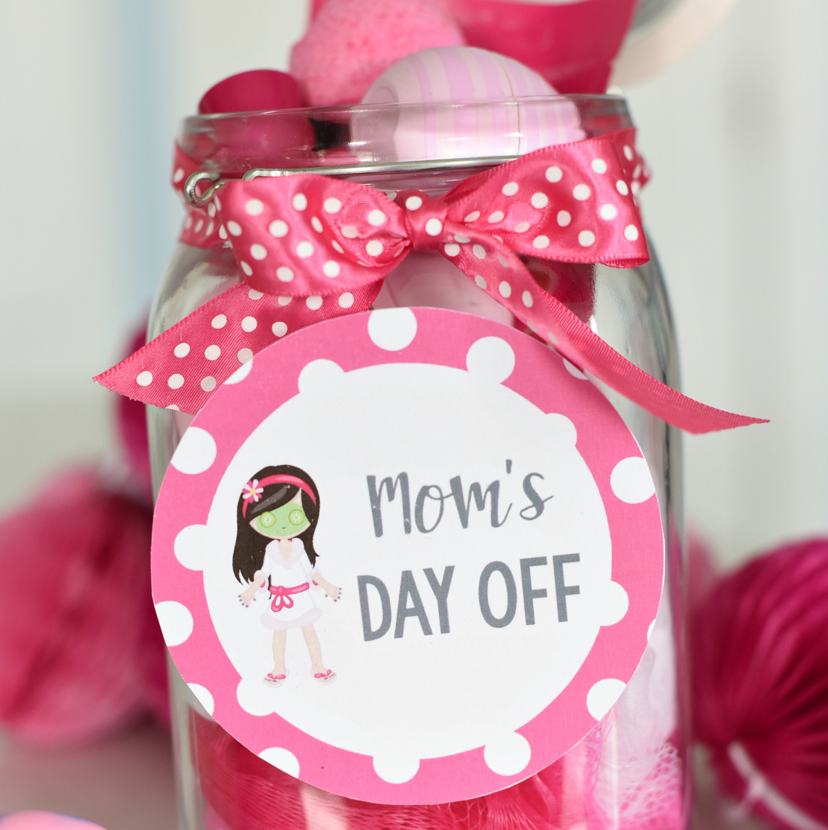 Mother\'s Day Gift: Spa in a Jar – Fun-Squared