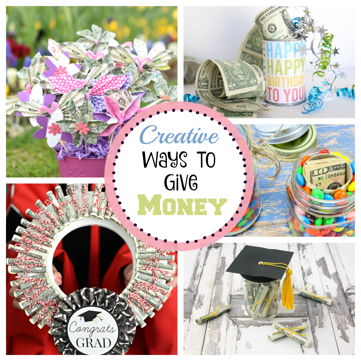 Creative Ways to Give Money – Fun-Squared