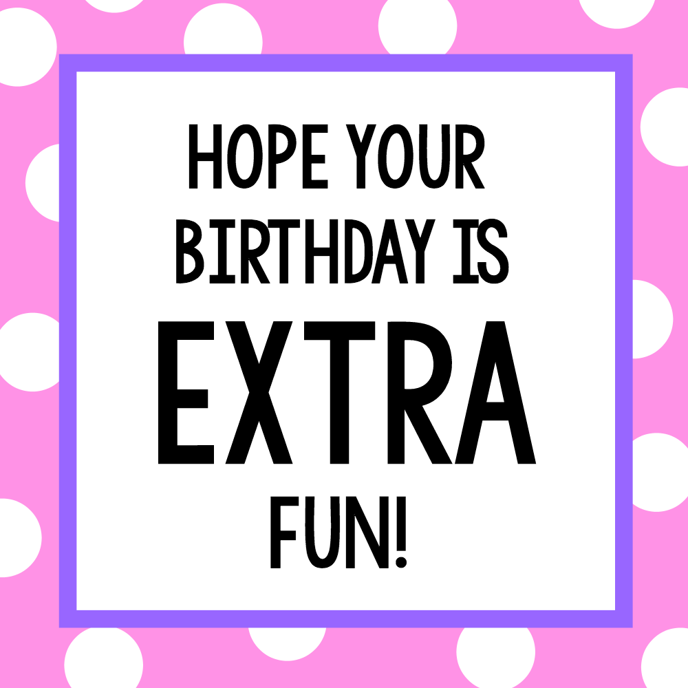 Candy Bar Sayings for Simple Birthday Gifts – Fun-Squared