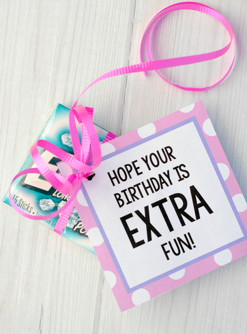 Gum Birthday Gift