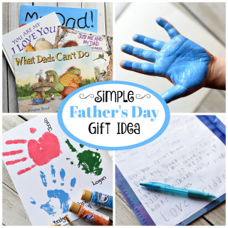 Simple Father's Day Gifts from Kids