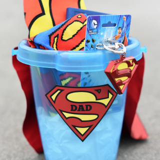 Father's Day Superhero Gift Basket
