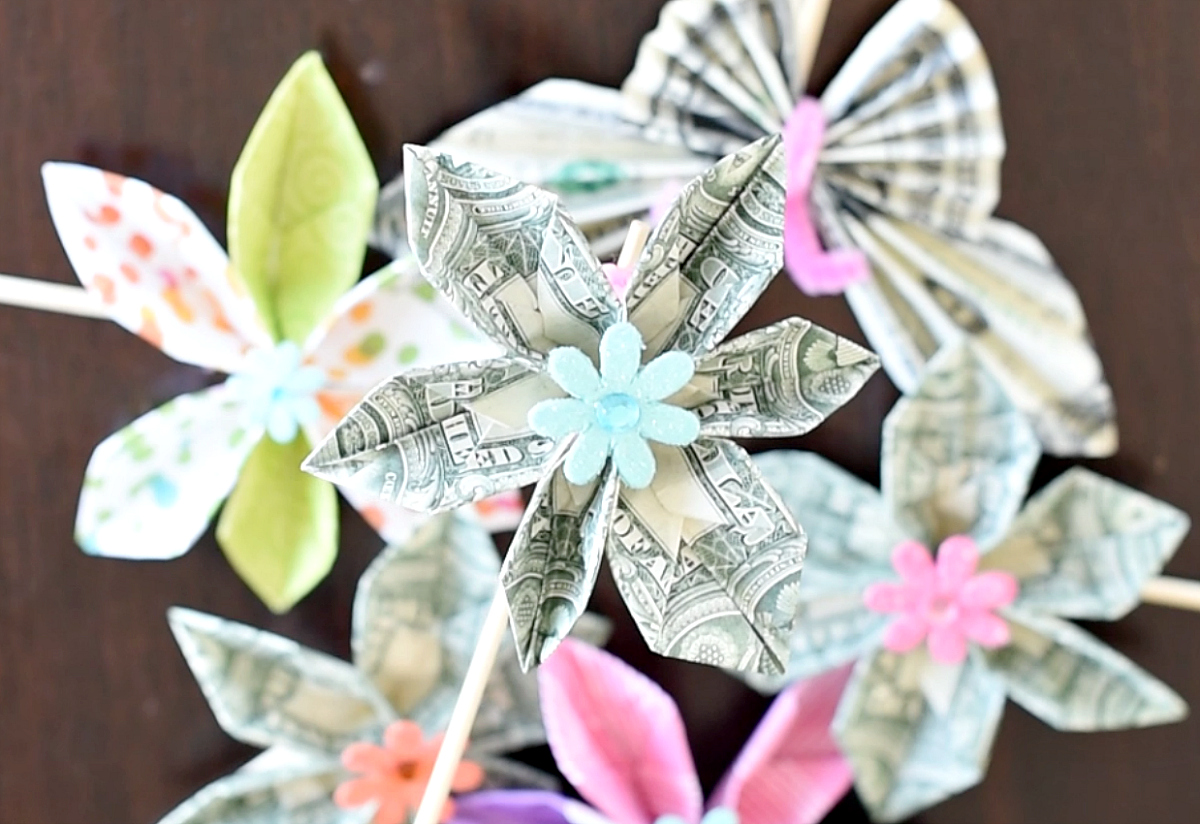 How To Make A Money Bouquet Fun Squared