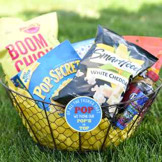 DIY Father's Day Basket Ideas: Pop Themed
