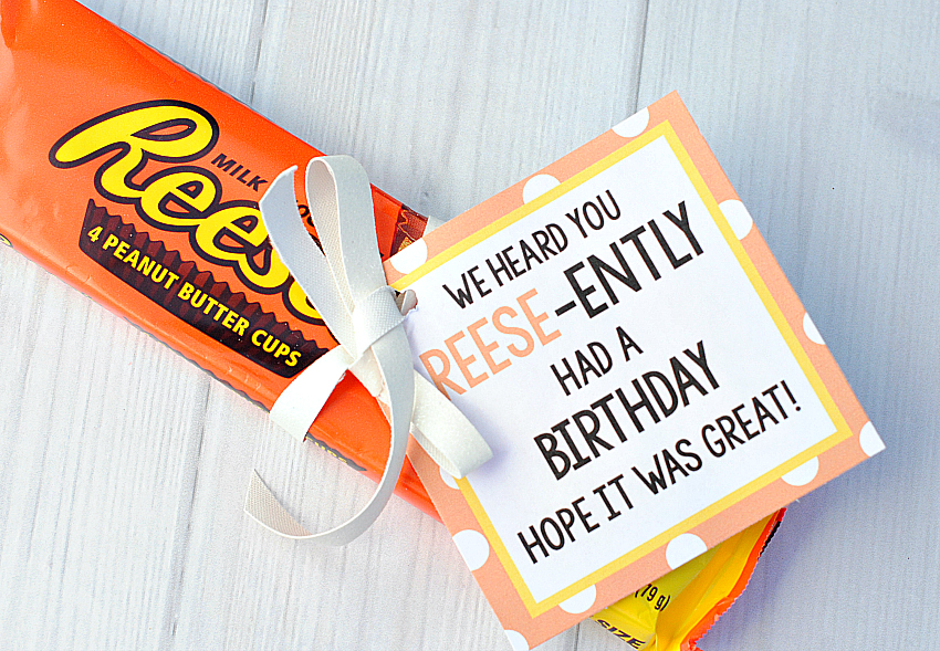 Reese's Birthday Gift Idea