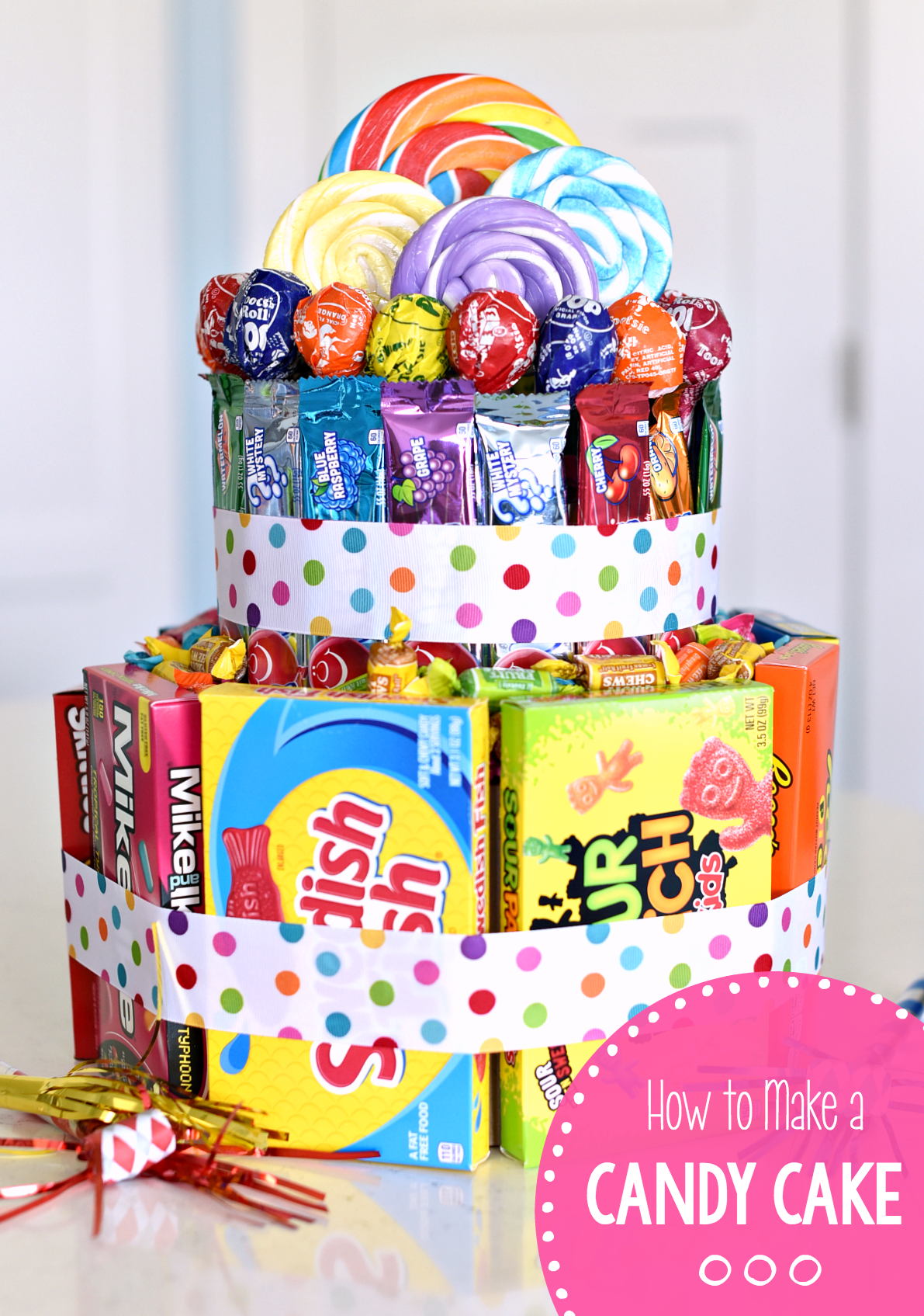 How to Make a Candy Cake for Birthdays or Special Occasions