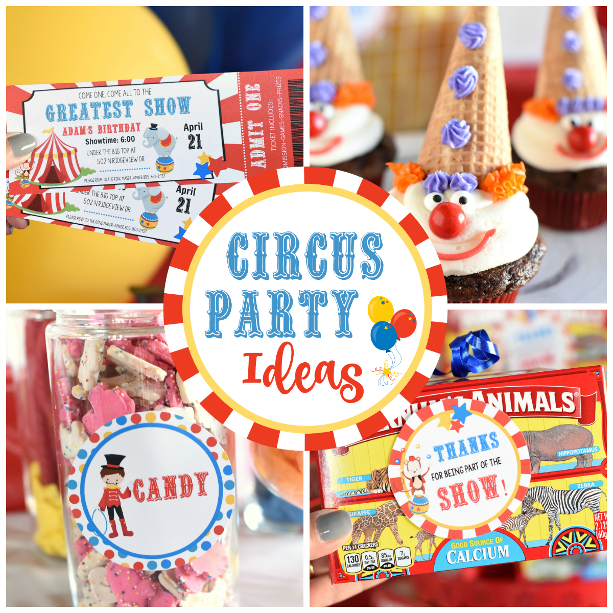 Circus Party Ideas This Fun Is Filled With For Invitations
