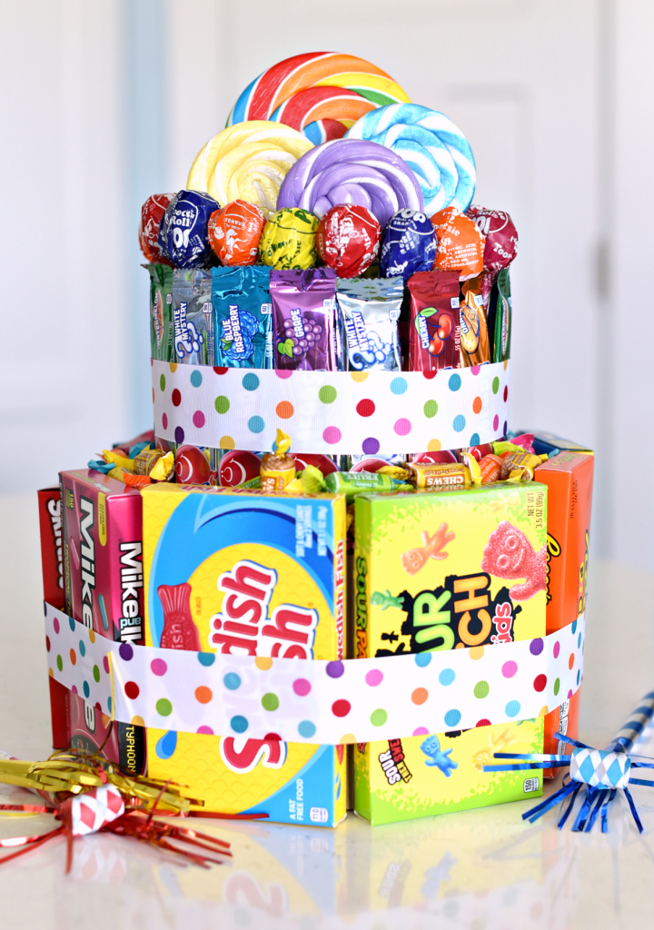 How to Make a Candy Cake 720x1024 Birthday Cake For Best Friend Female