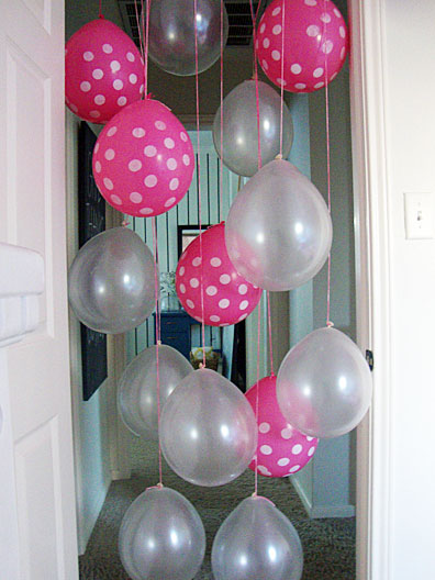 decorate the house along these same lines you can do a lot of fun things with decorating the house for their birthday as well whether you fill their room