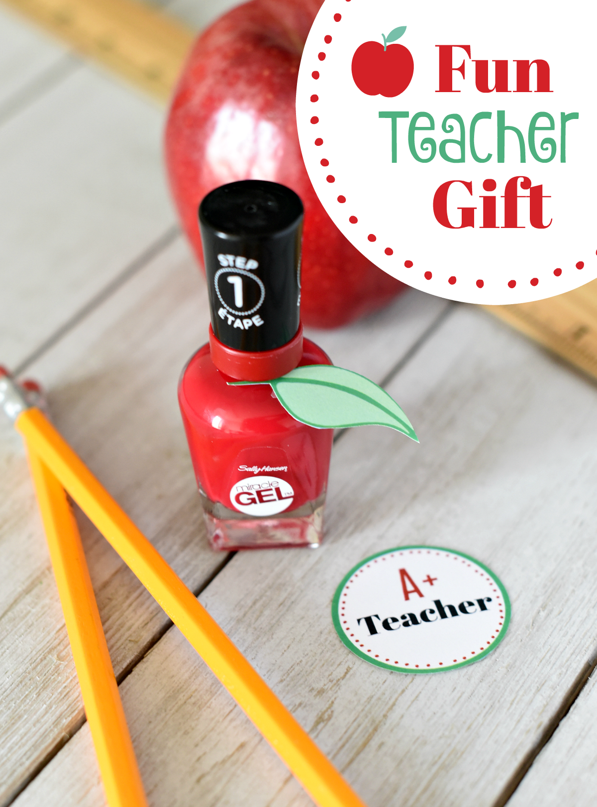 First Day of School Gifts for Teachers