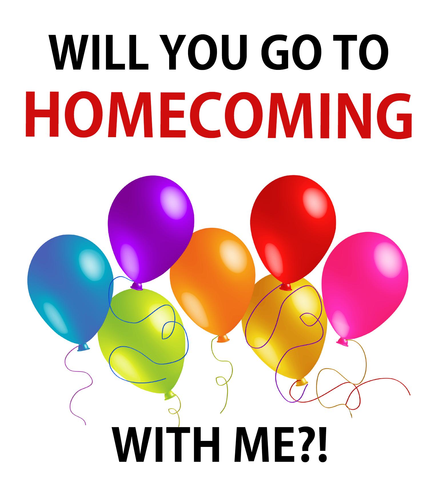 HomeComing Promposal Tag