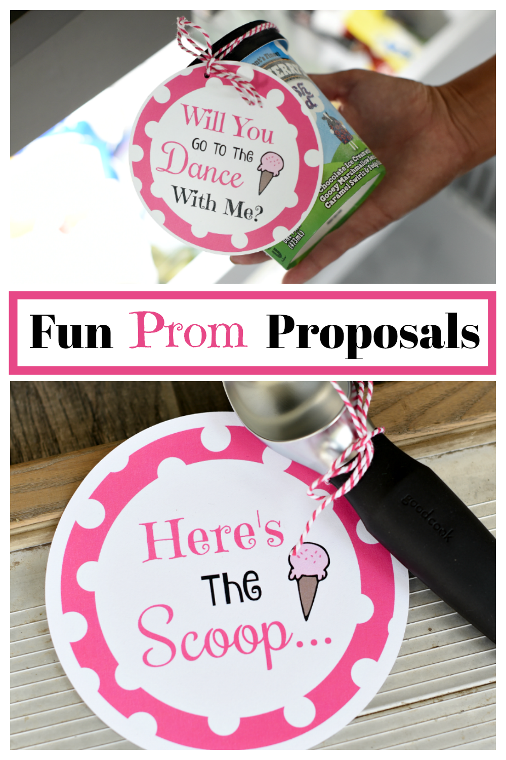 Homecoming Proposal Ideas. Need a cute idea for the next prom or homecoming? We have the scoop on this really fun and simple way to ask someone to a dance. #Homecoming #Prom #promposal #homecominginvitation #danceinvitation