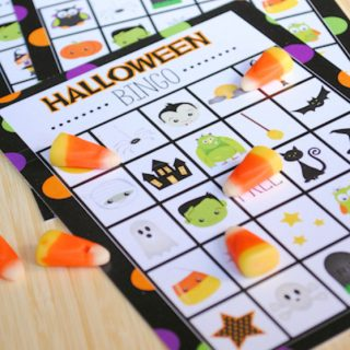 Halloween Bingo – Cute Free Printable Game
