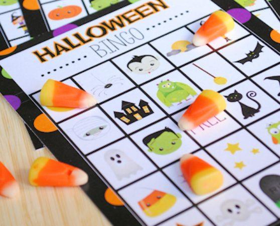 Halloween Bingo Game-Free Printable Halloween Bingo Boards to Print and Play
