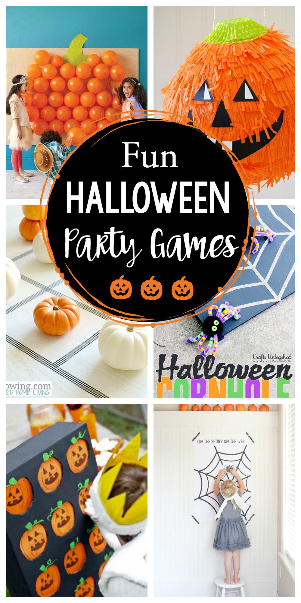 Fun Halloween Party Games for Kids-These great Halloween games are fun ideas to play at any Halloween party for kids #halloween #kids #games #party #halloweenparty