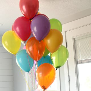 Money Gift Ideas: Birthday Balloons