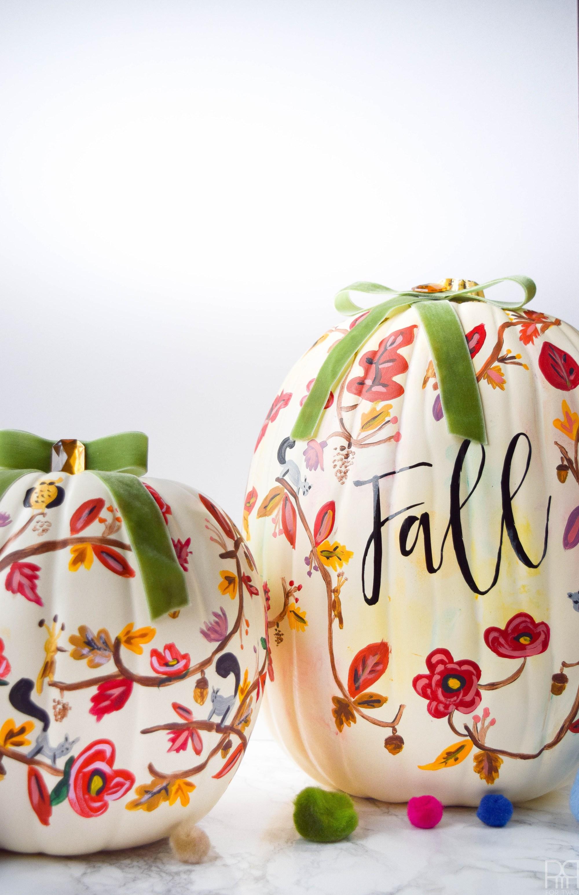 Fall Pumpkin Decorating Ideas
