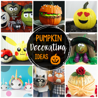25 Fun Pumpkin Decorating Ideas