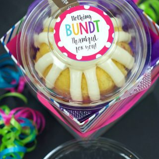 Nothing Bundt Thankful for You Gift Idea