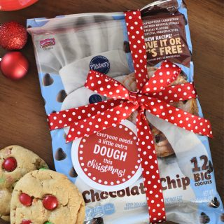 Simple Cookie Dough Christmas Gift Idea