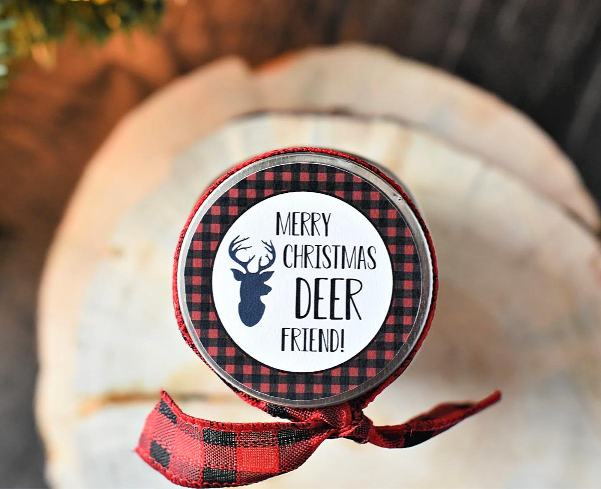 Deer Friend Gift Tag