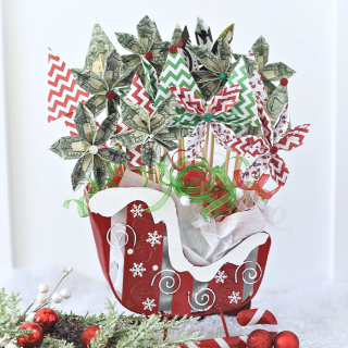 Cute Christmas Money Bouquet