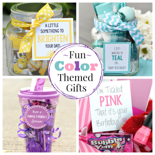 Fun Gift Ideas with Color Themes