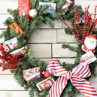 Creative Christmas Gift: Gift Card Wreath