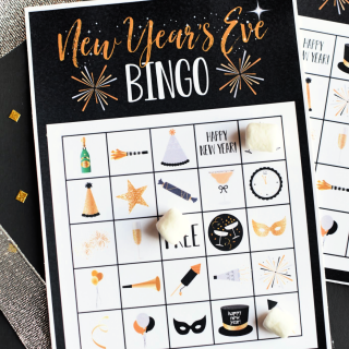 New Year's Eve Bingo Game