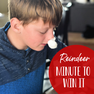 Minute to Win It Christmas Games: Reindeer Races