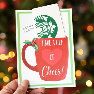 1856c1390aa Have a Cup of Cheer Holiday Gift Idea