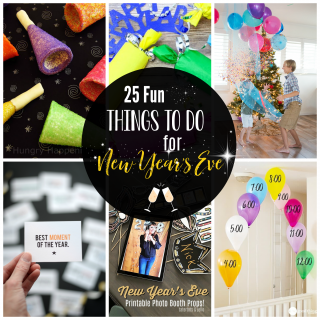 Fun Things to Do for New Year's Eve with Kids